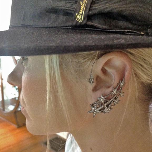 B-star-earring