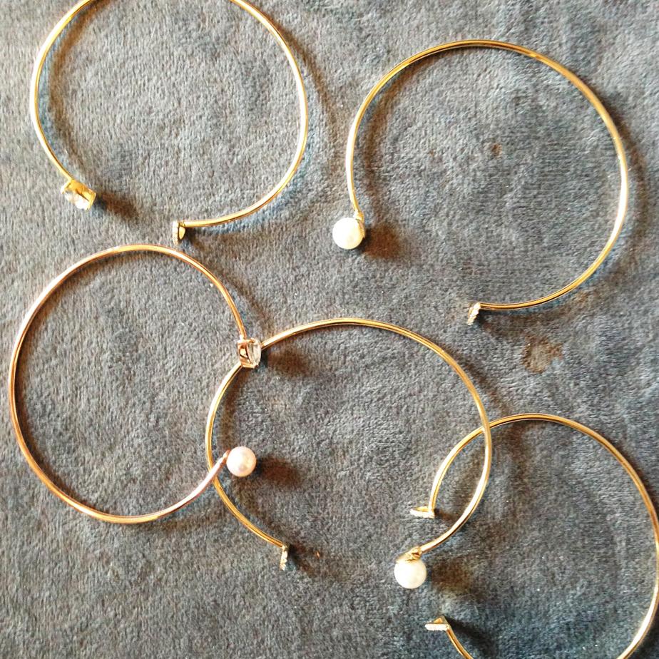 Wire cuffs